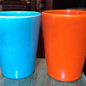 Two Cups - Copies of California Pottery pieces or the real deal? - Pottery