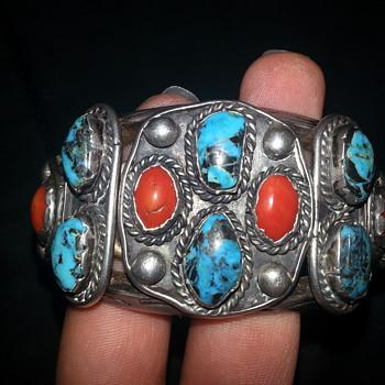 4.9 oz sterling silver cuff bracelet