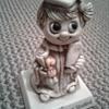 "R&W Berries Co. 1976  Plastic Figurine ""Worlds Greatest Student"""