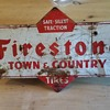 Firestone Town & Country Sign