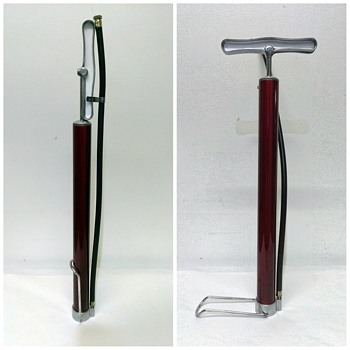Restored Micromatic Products Bicycle Tire Pump - Sporting Goods