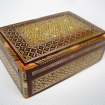 Jewelry box. From where and when ? - Fine Jewelry