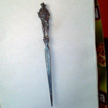 WWI commerative letter opener