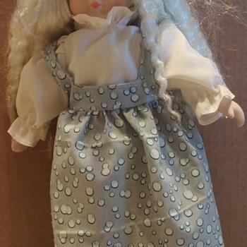 "Maker Unknown - 11 1/2"" Tall Doll"