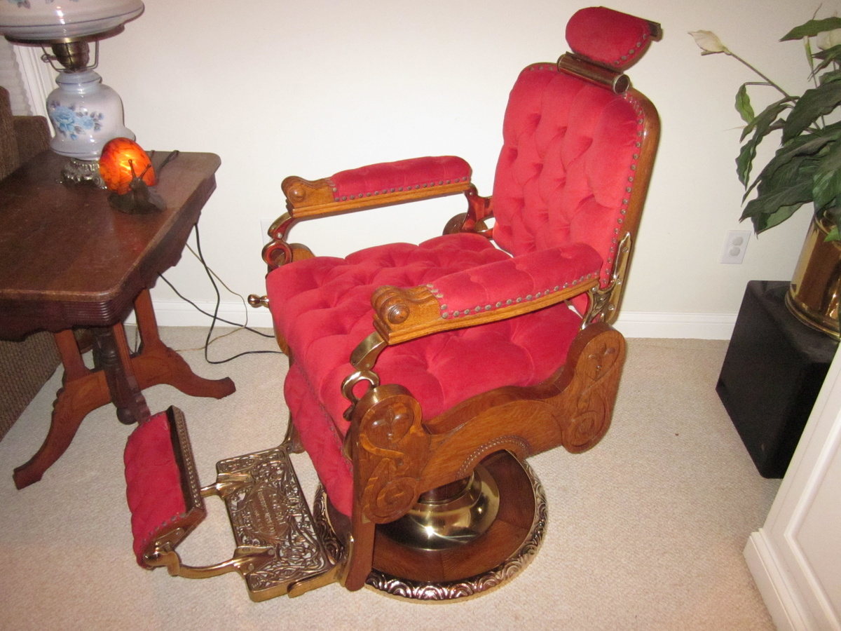 images vulcanlyric l koken chair antique chairs barber value
