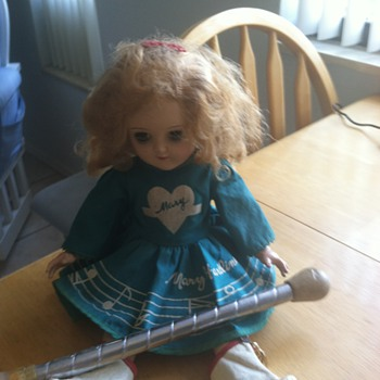 Mary Hartlime  majorette doll from ideal doll