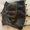W B Co  German Silver Mesh Purse