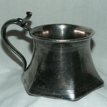 "Antique Homan Mfg. Company 2782 ~Special Metal~ ""Barber's Mug"""