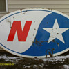 Northstar Porcelain 2 sided sign