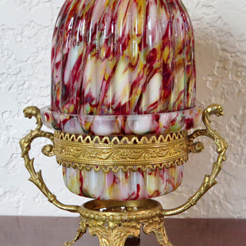 Fairy Lamp - Welz? - Art Glass
