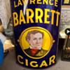 Lawrence Barrett Cigar sign
