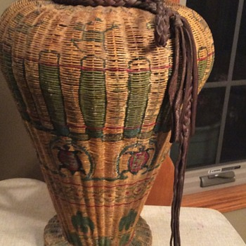 Back alley Native American basket find.