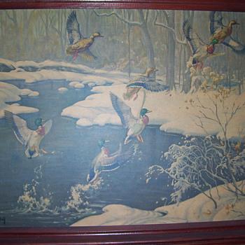 DARLING duck paintings