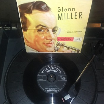 Mr. Glenn Miller...On Extended Play 45 RPM Vinyl - Records