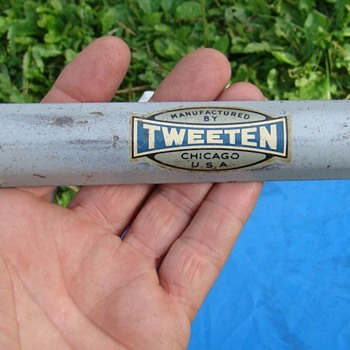 Vintage Tweeten Tin Billiard Tip Shaper Scuffer - Games