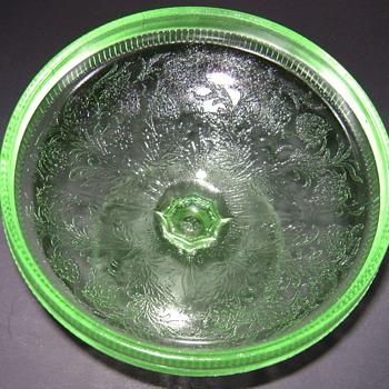 U.S. Glass Co. - Strawberry - Glassware