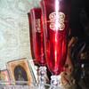 Ruby Red Stemware