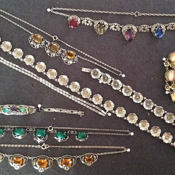 Collection of some of my Jewellery, Mostly Bernard Instone