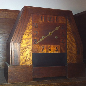 Art deco clock - Art Deco
