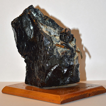 Coal Miner Statue - Fine Art
