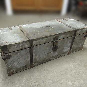 Antique Carpenter's Tool Box, early 1900s - Furniture