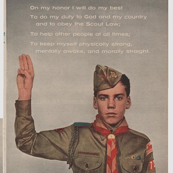 Saturday Evening Scout Post Various Scans of This and That Boy Scouts of America - Medals Pins and Badges