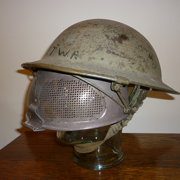 British WWII Experimental Cruise Visor steel helmet.