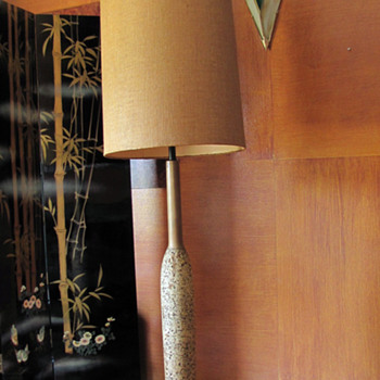 Eames Still Cork Floor Lamp - Lamps