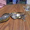 Hand Blown Venetian Glass Fox Made In Italy
