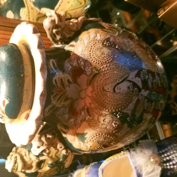 19th century Japanese vase purchased in China around 1900