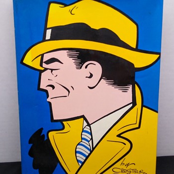 """VINTAGE 1970 BOOK """"THE CELEBRATED CASES OF DICK TRACY"""" FIRST EDITION - Books"""
