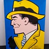 """VINTAGE 1970 BOOK """"THE CELEBRATED CASES OF DICK TRACY"""" FIRST EDITION"""