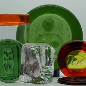 treasure trove of Hoglunds - Art Glass