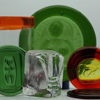 treasure trove of Hoglunds - Art Glass