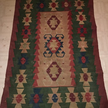 Native American Navajo rug  - Rugs and Textiles