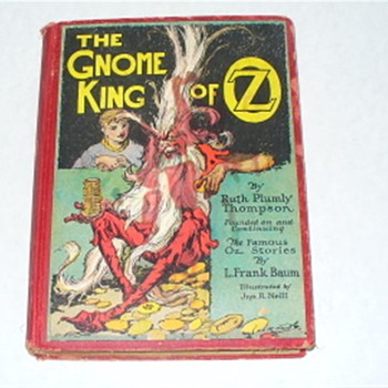 Gnome of OZ 1927 by Ruth Plumly