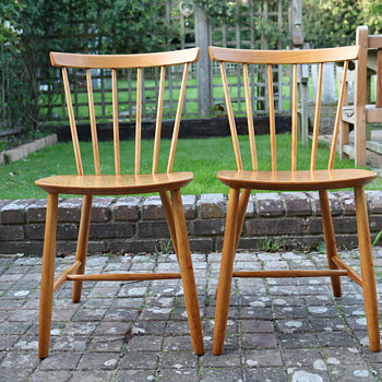 Mid Century Danish chairs - Furniture