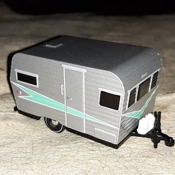 Greenlight Series 2 1958 Travel Trailer - Model Cars