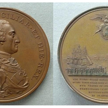Commemorative Medal dated 1799 - Military and Wartime