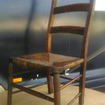 Does this chair have a story to tell