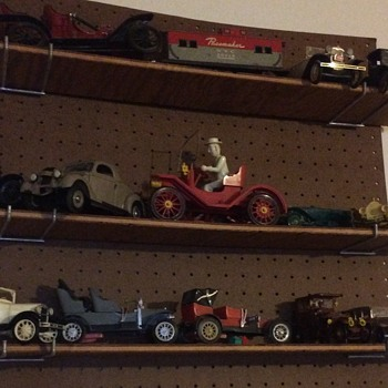 Few more vintage car toy models  - Model Cars