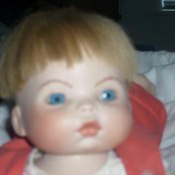 bisque doll. - Dolls