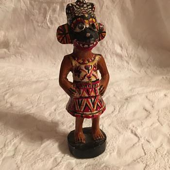Wooden Souvenir Doll - Dolls