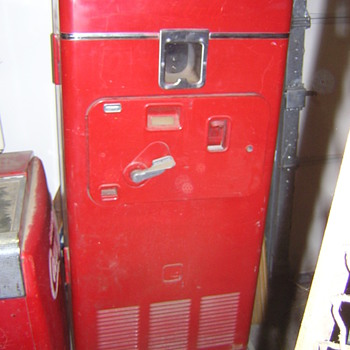 Coca Cola vending machine - Coca-Cola