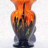 Czechoslovakian Deco Era spatter vase