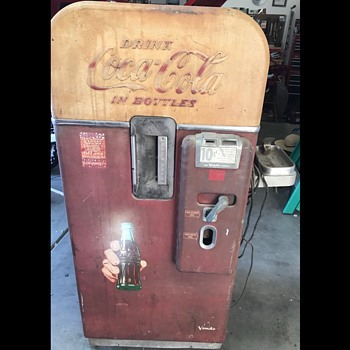 1956 Vendo 39 Coke Machine - Coca-Cola