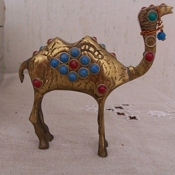 Interesting brass camel
