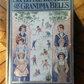 """""""Six Little Bunkers at Granda Bell's"""" by Laura Lee Hope - Books"""