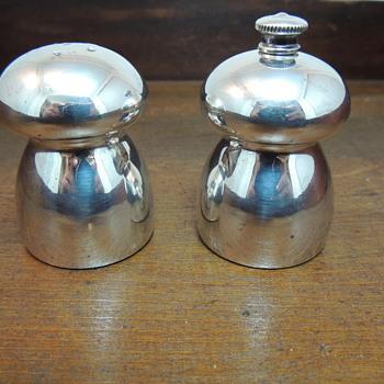 Sterling Salt and Pepper Set - Silver