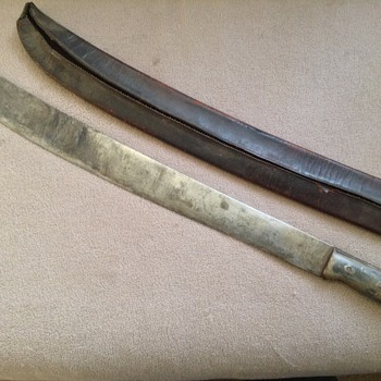 Machete, Cane cutter, or a quick trip to the surgeon